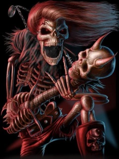 Skull Theme Mobile Theme