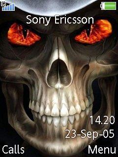 Skull Mobile Theme