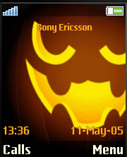 Glowing Pumpkin Theme Mobile Theme