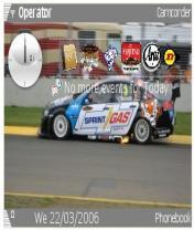 V8 Supercars 2008 Mobile Theme