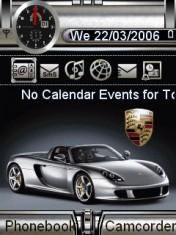 Animated Porsche Ca Mobile Theme