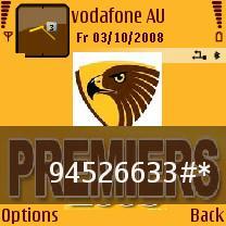 Hawks Premiers Mobile Theme