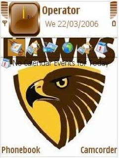 Hawthorn Premiers Mobile Theme