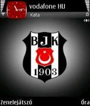 Besiktas Black Mobile Theme