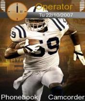 NFL Player Mobile Theme