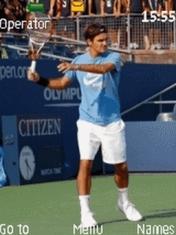 Roger Federer Mobile Theme