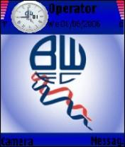 Bolton Wanderers N9 Mobile Theme