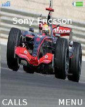 Vodafone Mclaren Maercedes F1 Mobile Theme