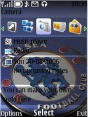 Chelsea FC S40 Nokia Theme Mobile Theme