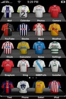 Maxican Soccer Mobile Theme