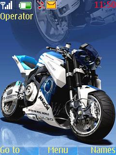 Super Bike S40 Theme Mobile Theme