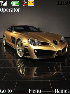 Sports Cars Theme Mobile Theme