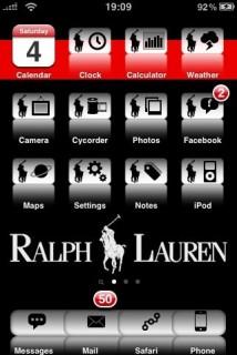 Ralph Lauren IPhone Theme Mobile Theme