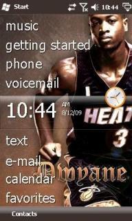 Dwyane Wade Htc Theme Mobile Theme
