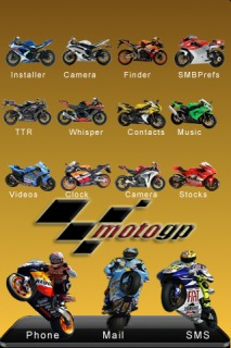 Moto GP IPhone Theme Mobile Theme