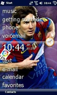 Lionel Messi Theme Mobile Theme