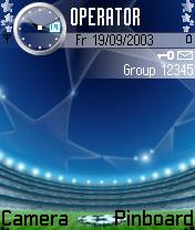 Football Sports Theme Mobile Theme