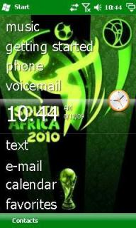 World Cup 2010 Theme Mobile Theme