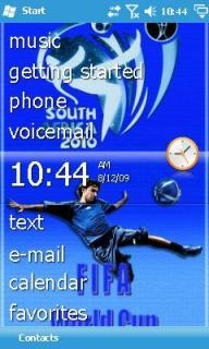 World Cup Htc Theme Mobile Theme