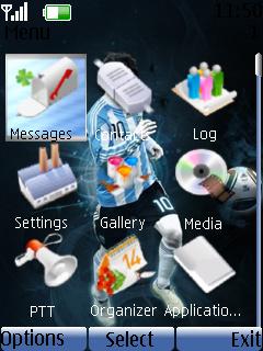 Football Nokia Theme Mobile Theme