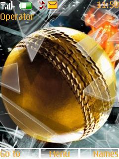 Golden Balls Theme Mobile Theme