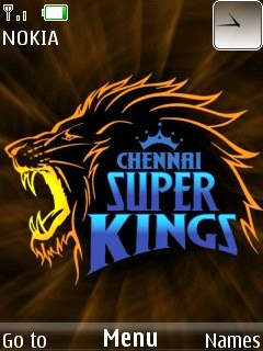 Chennai Super Kings Mobile Theme