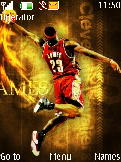 Lebron James Mobile Theme