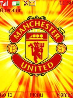 Red Devils Mobile Theme