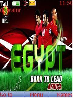Egypt Leaders Mobile Theme