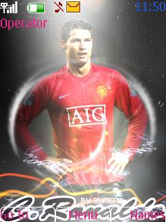 C.Ronaldo Mobile Theme
