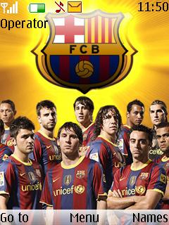 Fc Barcelona Mobile Theme