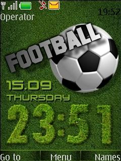 Football Mobile Theme
