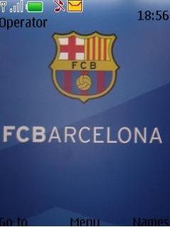 Barcelona Fc Mobile Theme