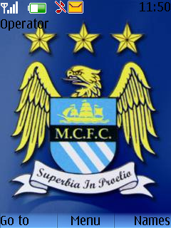 Manchester City Mobile Theme