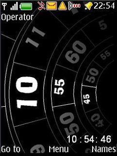 Sport Watch V3 Mobile Theme