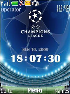 Champions Clock Mobile Theme