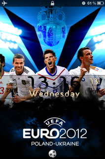 Euro 2012 Ls Mobile Theme