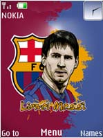 Lionel Messi Mobile Theme