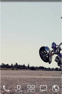 Bike Stunt Road For Android Theme Mobile Theme