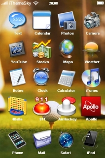 Golf Play Free IPhone Theme Mobile Theme