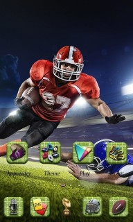 Sports Player Football Android Theme Mobile Theme