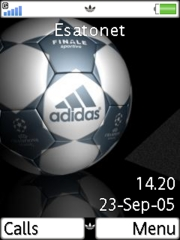 Addidas Sport Football Mobile Theme