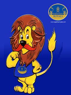 Rajasthan Royals Mobile Theme