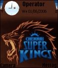 Chennai Super Kings Mobile Theme