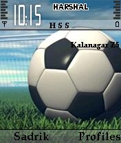 Soccer Mobile Theme
