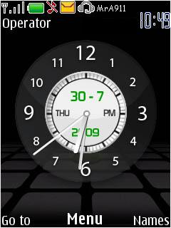 Nokia Clock New Mobile Theme