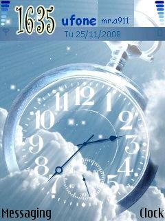 Sky Clock Mobile Theme