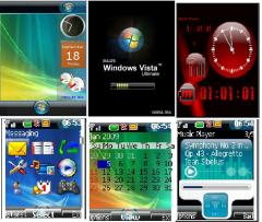 3D Vista Mobile Theme