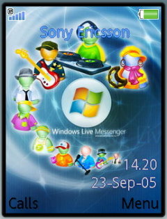 Windows Theme Mobile Theme