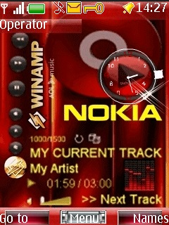 Nokia Xpress Cool Mobile Theme